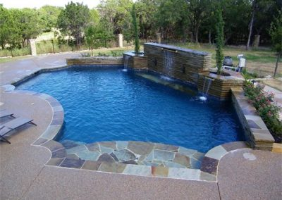 geometric-pool-with-stone-accents