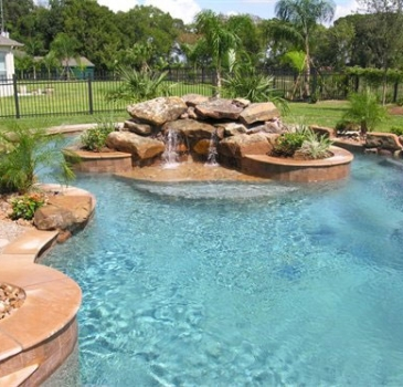 Austin Award Winning Swimming Pool Designs | Kb Custom Pools | Bee